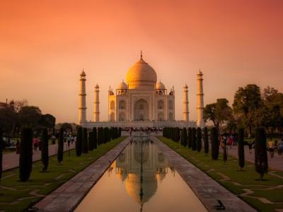 Nydelige Taj Mahal