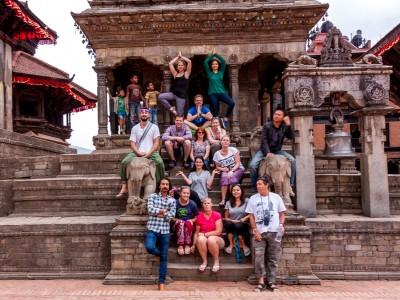 Marihuana, neshorn og rafting i Nepal