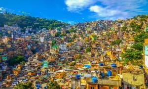 En tur inn i favelaen i Rio de Janeiro