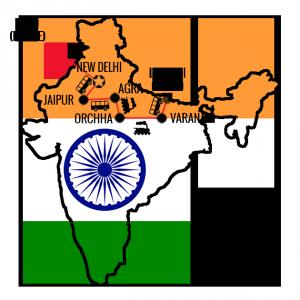 Min reiserute India