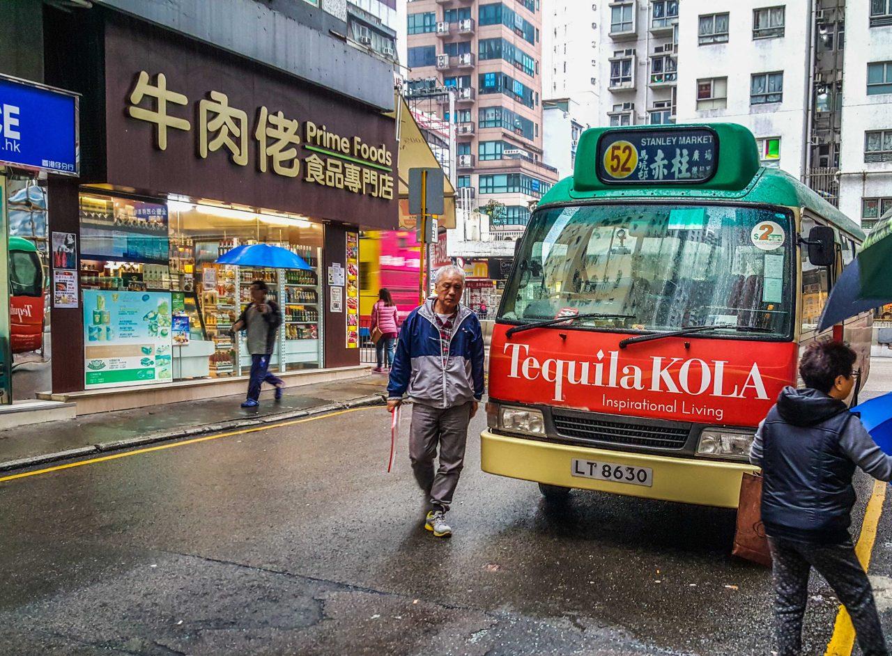 Hong Kong minibuss
