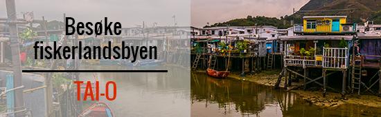 Besøke fiskerlandsbyen Tai-O