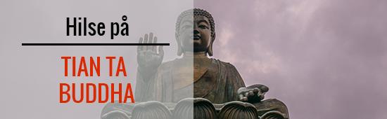 Hilse på Tian-Ta-Buddha
