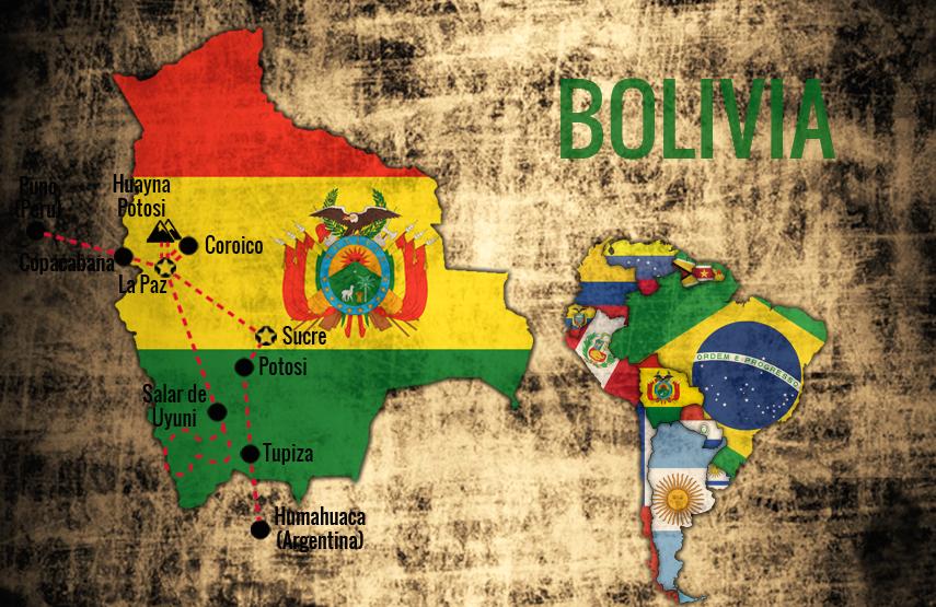 Reiserute-Bolivia