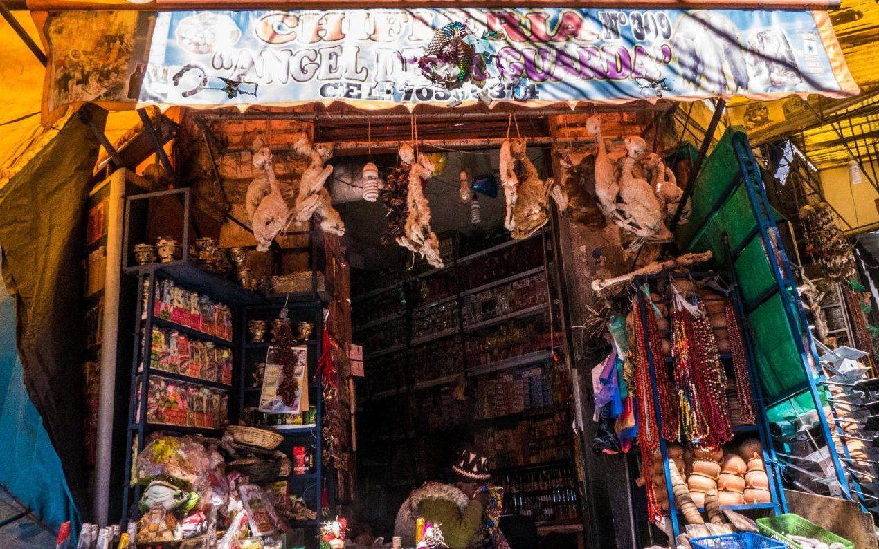 Heksemarkedet i La Paz