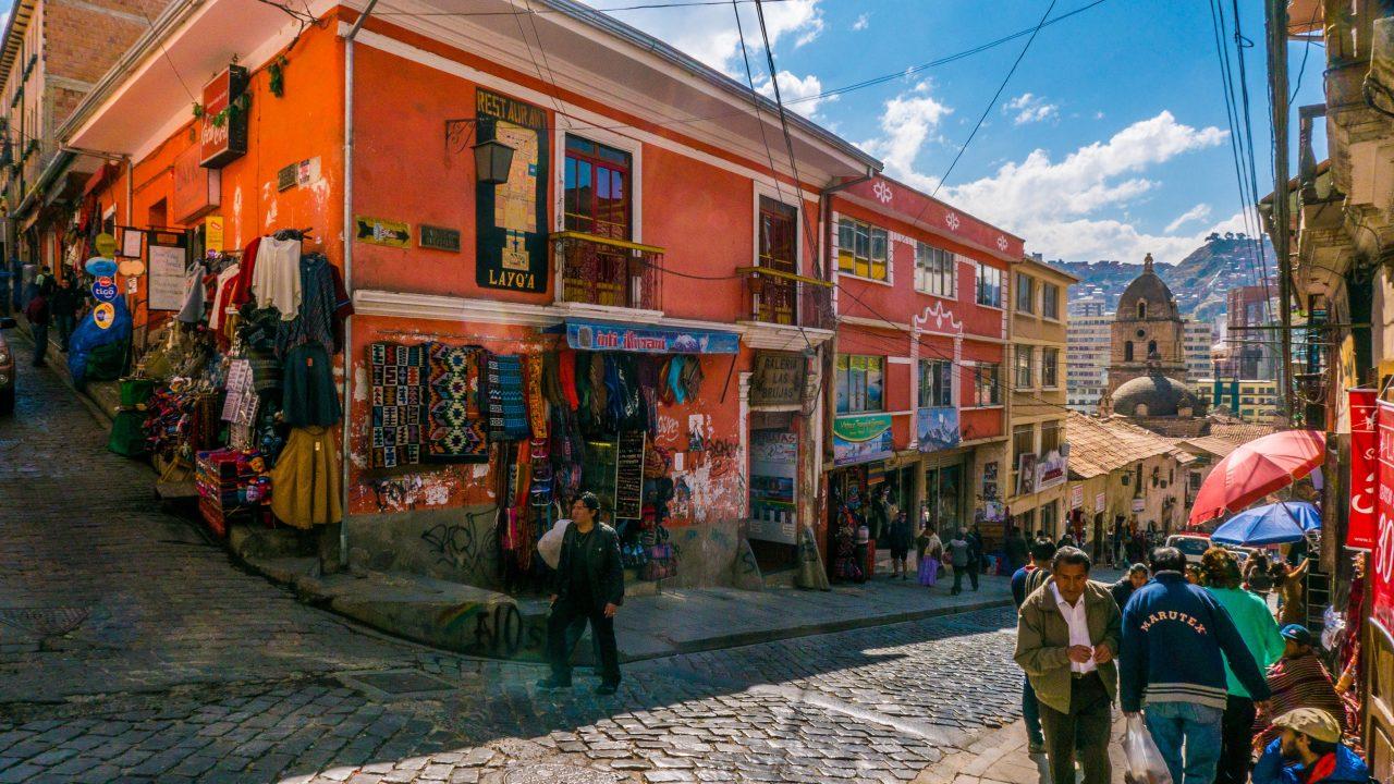 Aymara-distriktet La Paz