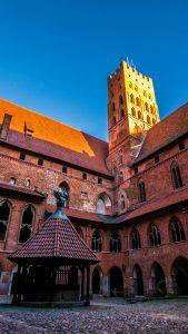 Slottet i Malbork