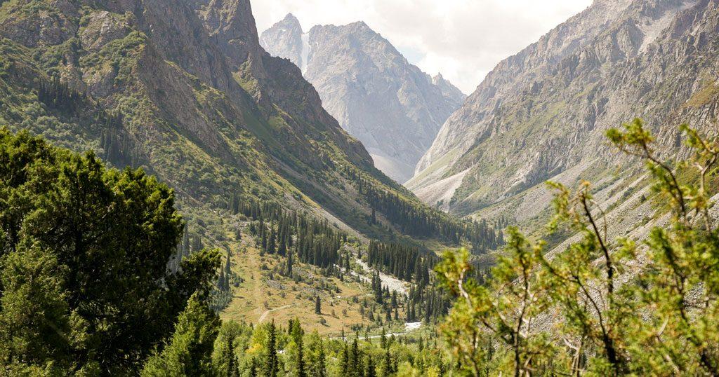 Ala Archa Nasjonalpark Bishkek Kirgisistan