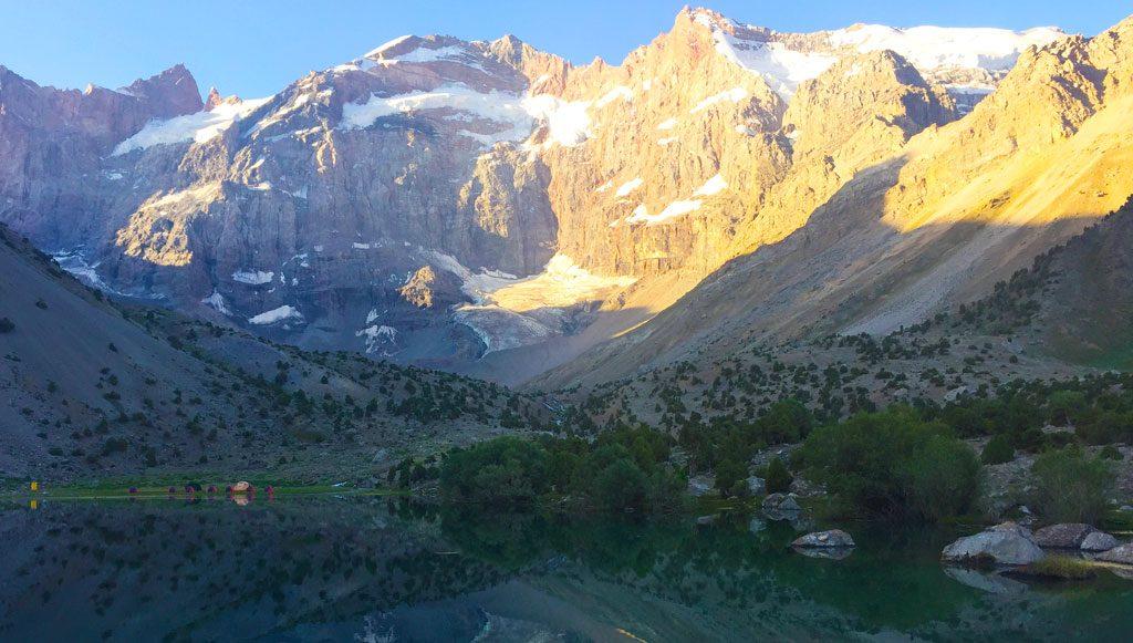 Bibijanat Lakes Tadsjikistan