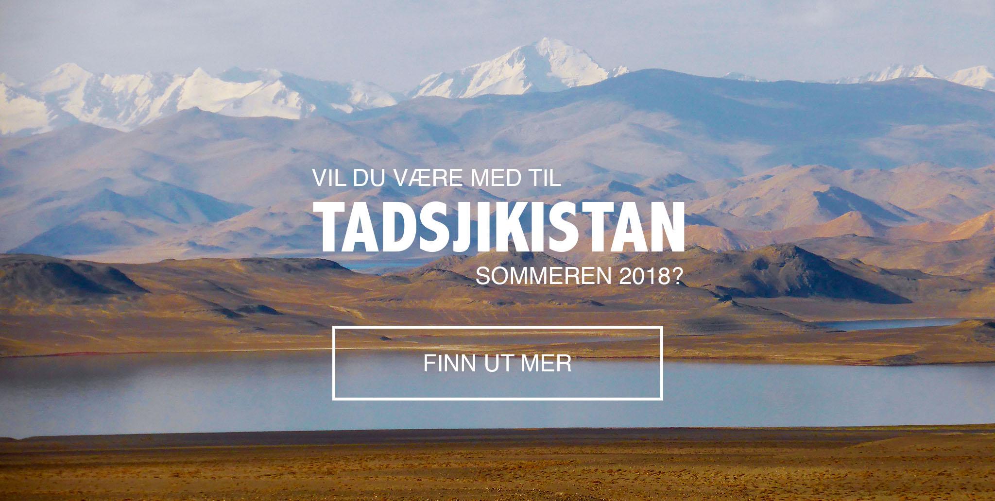 Bli med til Tadsjikistan 2018
