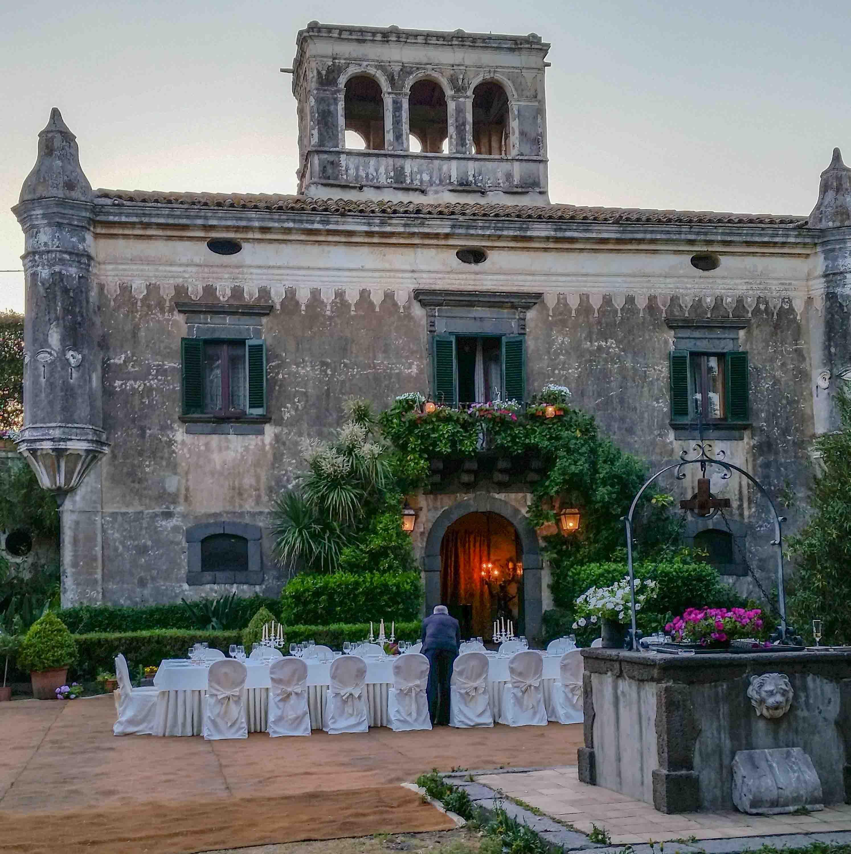 Il Castello degli Schiavi, Sicilia