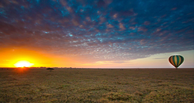 Luftballong Serengeti