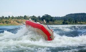 Rafting på Nilen