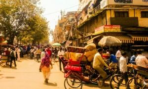 Kultursjokk i Delhi