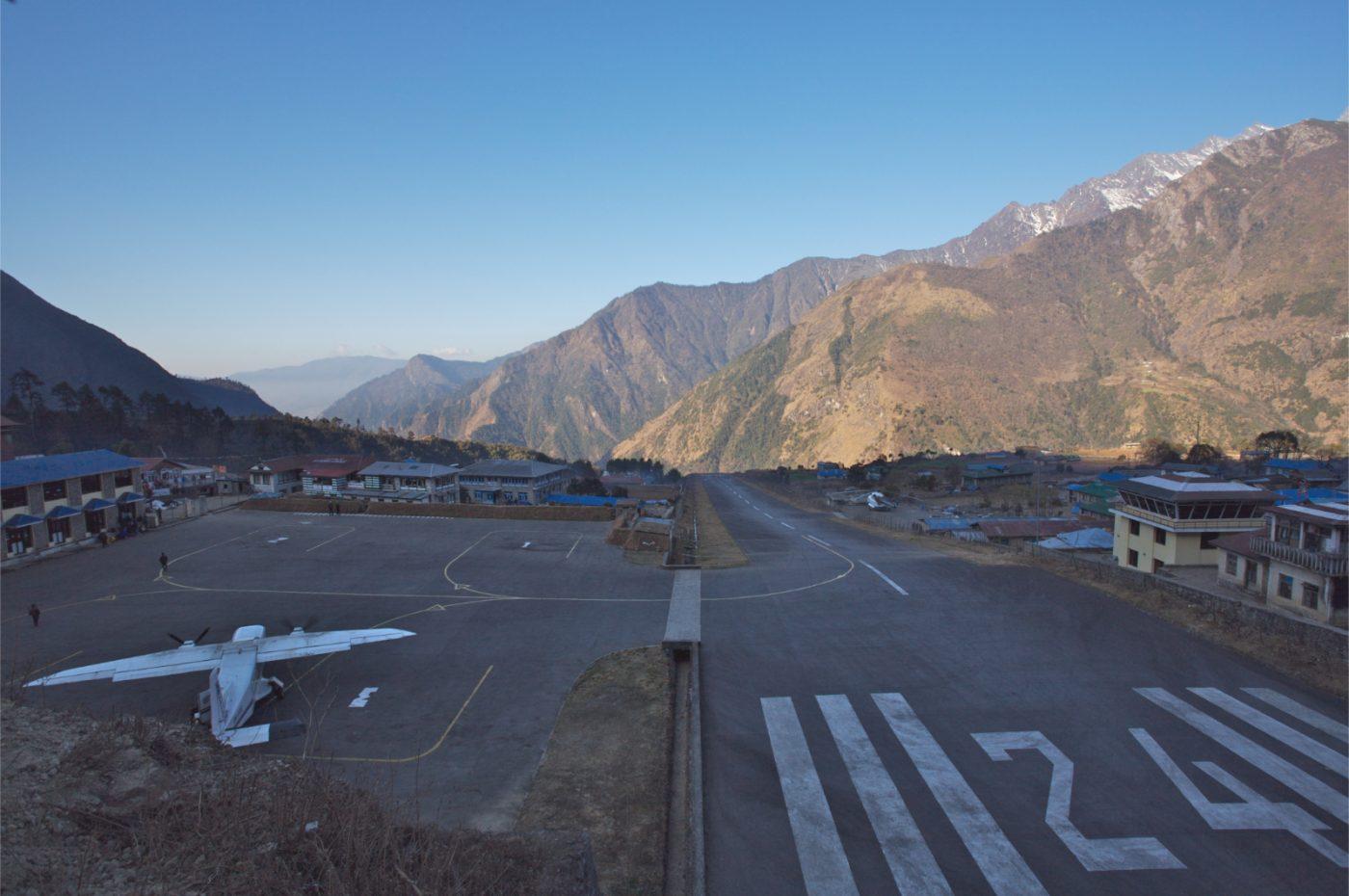 Flyplassen i Lukla