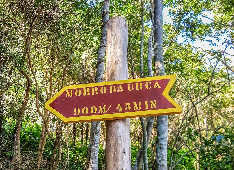 På vei opp til Morro da Urca i Rio de Janeiro