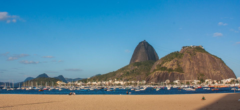 Sukkertoppen og Morro da Urca Rio de Janeiro