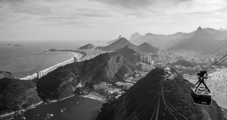Taubanen til Sukkertoppen i Rio de Janeiro