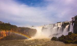 Klissvåt i Iguazú Falls