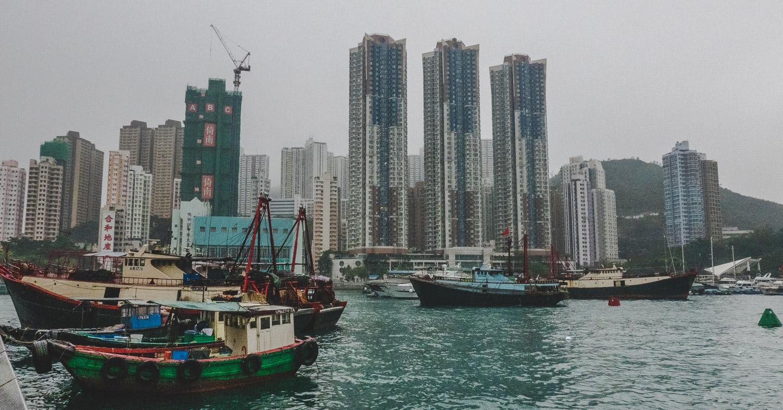 Aberdeen i Hong Kong.