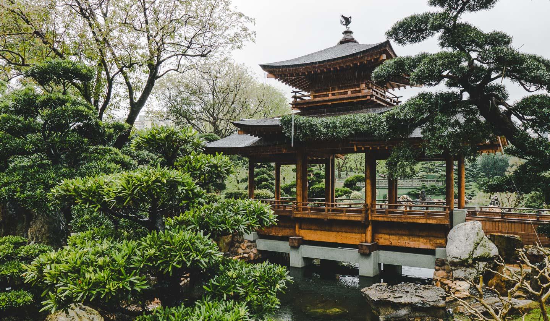 Nan Lian Garden i Hong Kong.