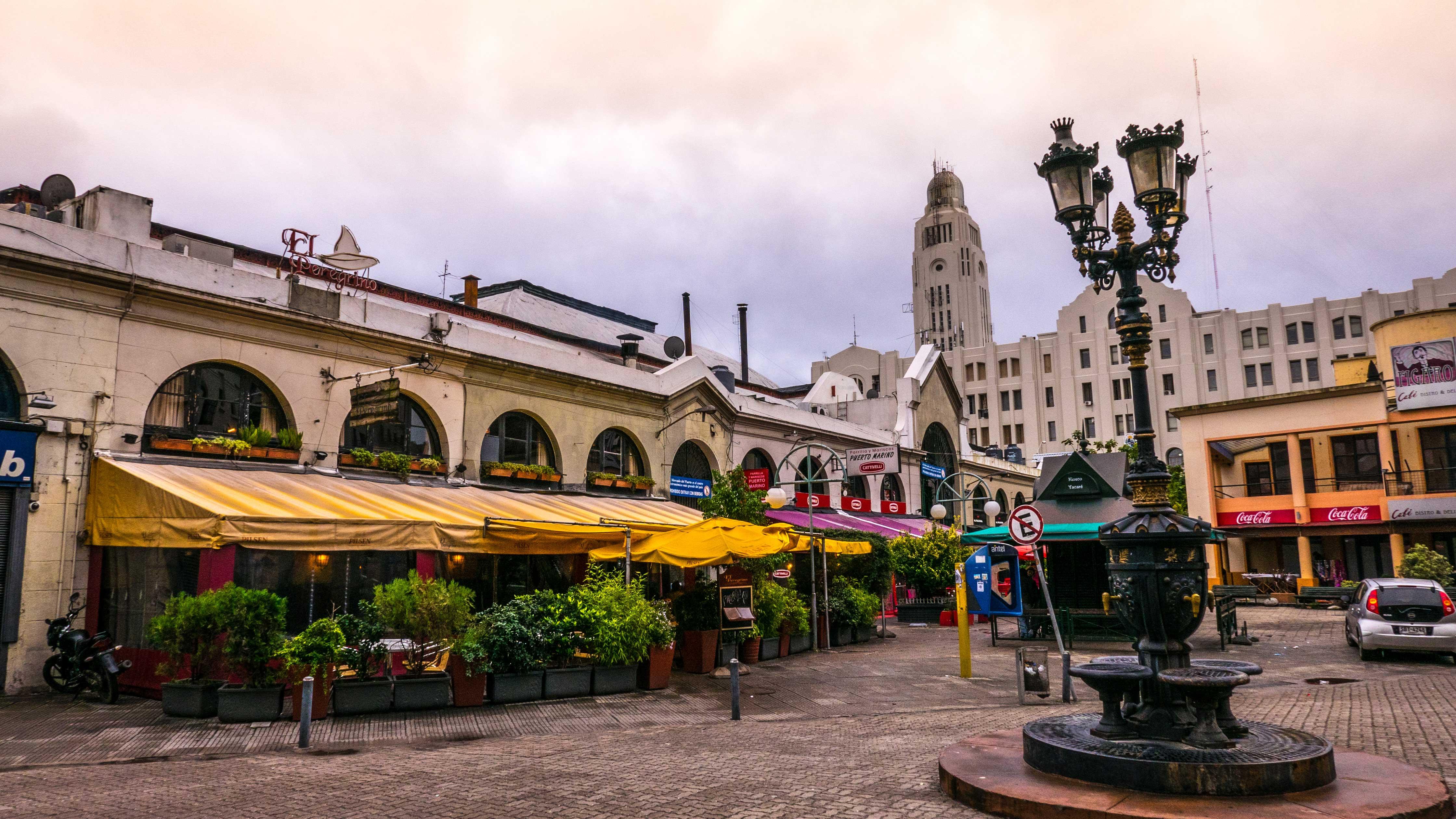 Montevideo Mercado del Puerto