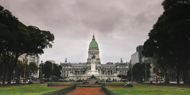Kongressbygningen i Buenos Aires