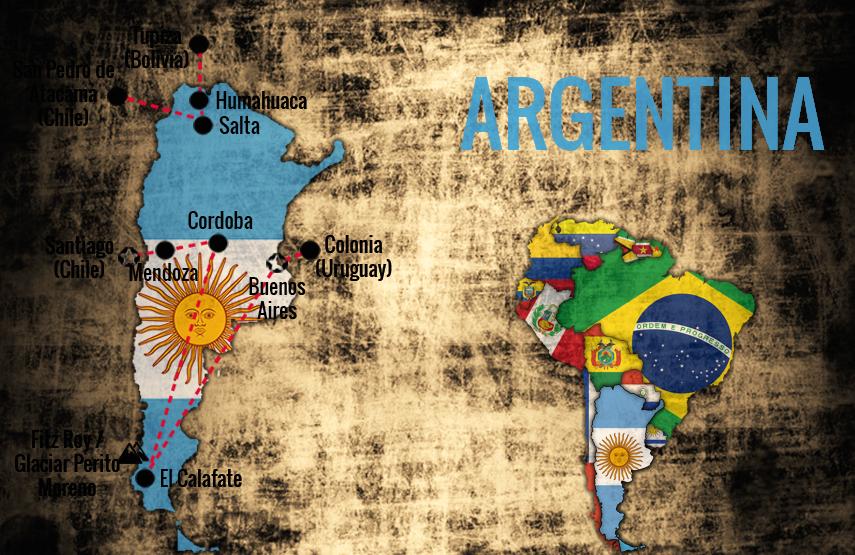 Reiserute-Argentina