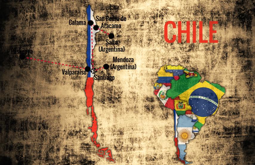 Reiserute-Chile