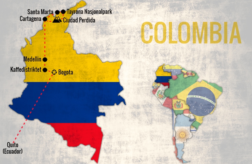 Reiserute-Colombia