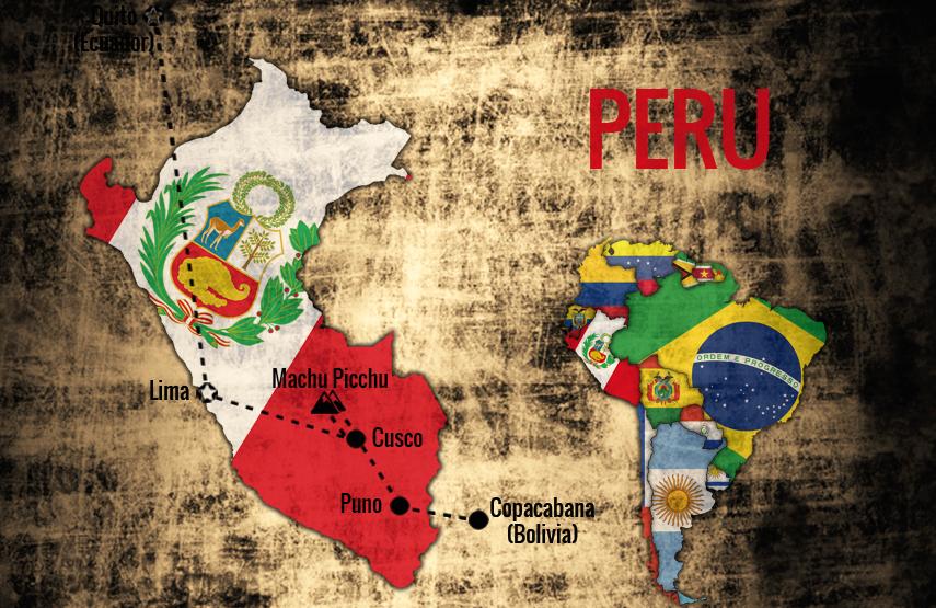 Reiserute-Peru