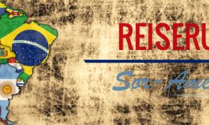 Reiserute Sør-Amerika