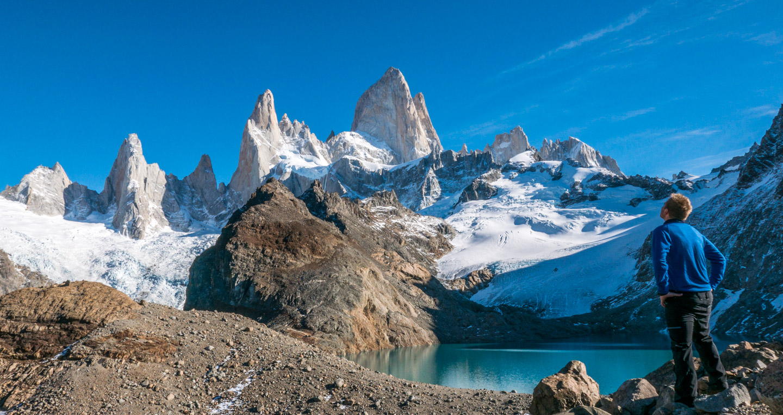 Fitzroy ved Laguna de los Tres, Patagonia, Argentina