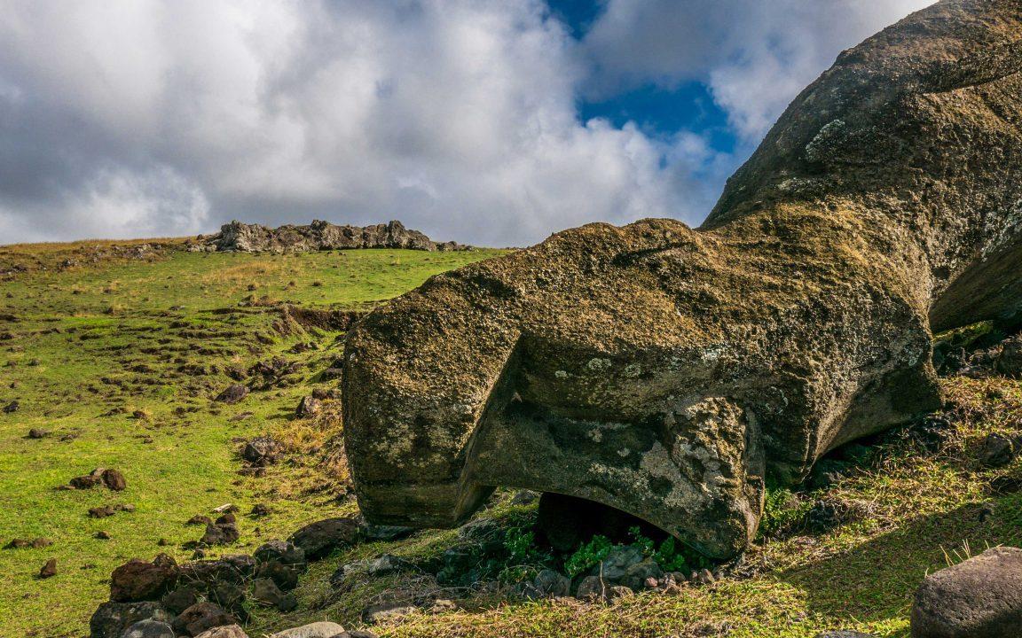 Moai Påskeøya
