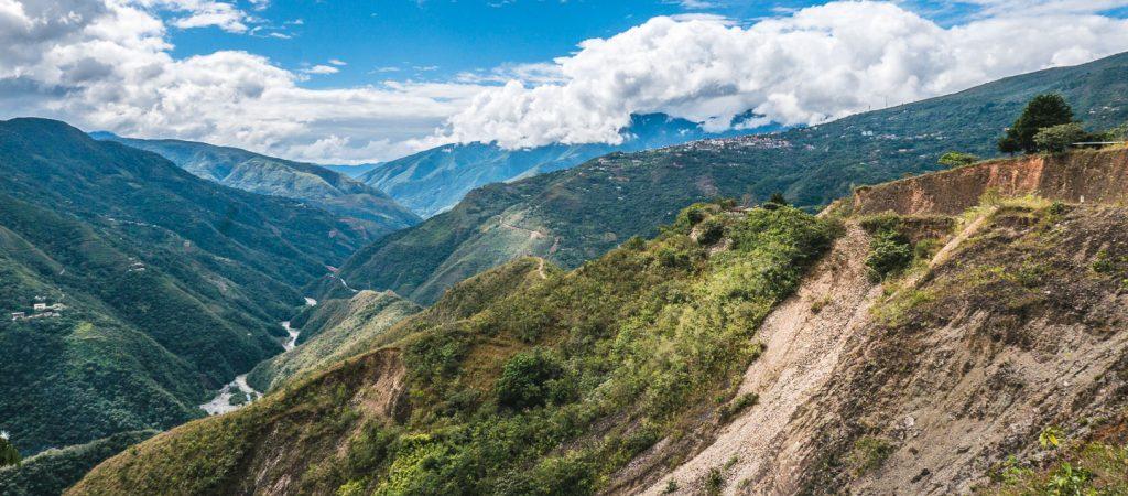 Yungasdalen, Death Road, Bolivia