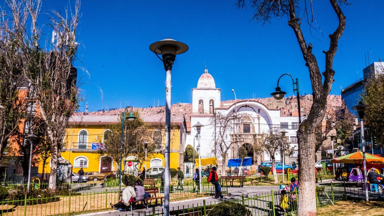 Plaza de San Pedro La Paz