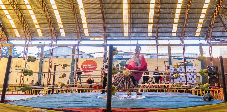 Wrestling i El Alto, Bolivia