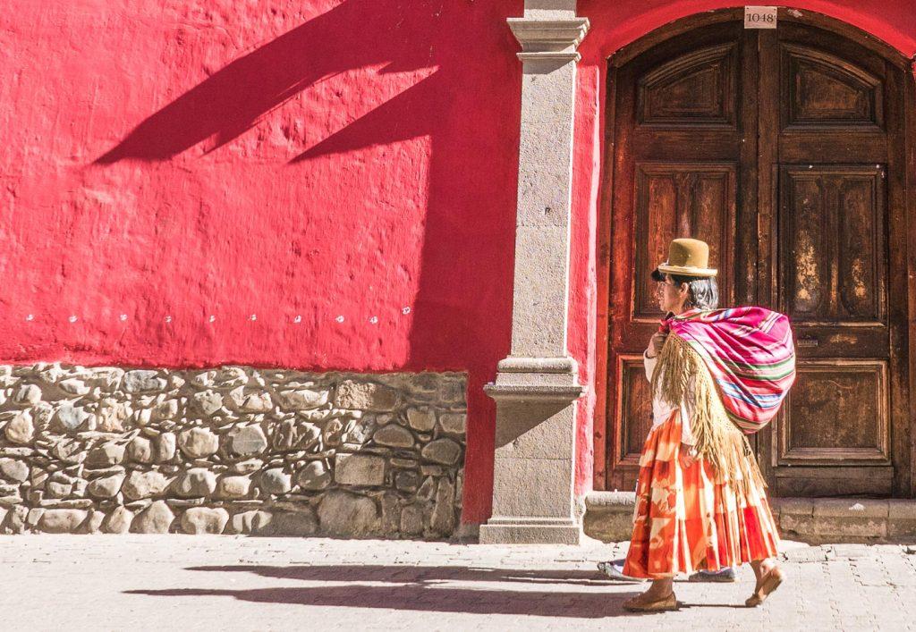 Cholita, La Paz, Bolivia