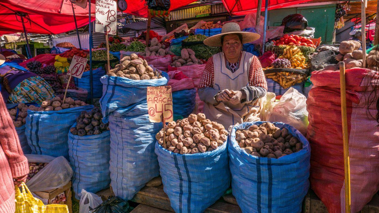 Søndagsmarked La Paz