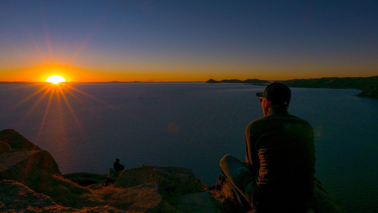 Titicacasjøen Cerro Calvario Copacabana
