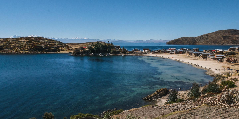Titicacasjøen, Isla del Sol, Bolivia