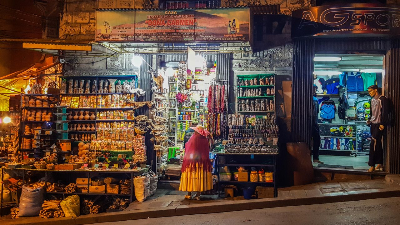 Heksemarkedet La Paz