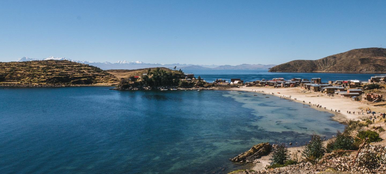 Challapampa, Isla del Sol, Titicacasjøen, Bolivia