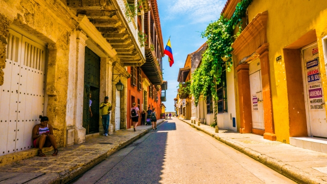 Gamlebyen i Cartagena
