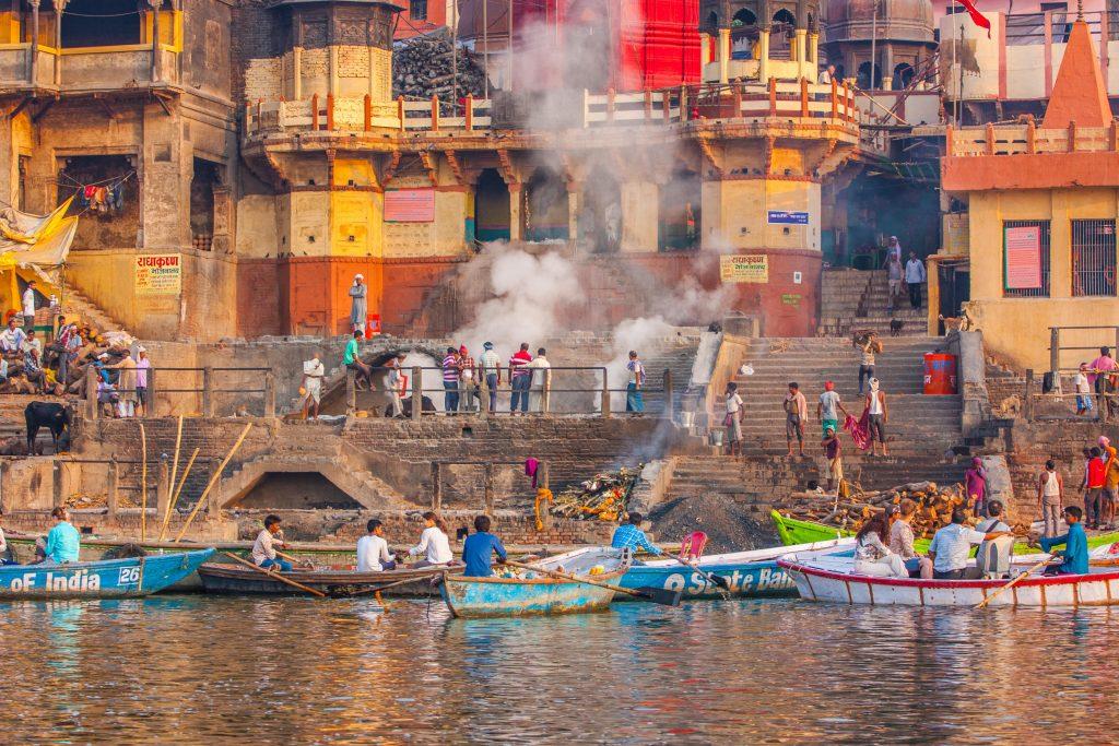 Varanasi og Ganges