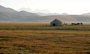 Sommerferien går til… Kirgisistan