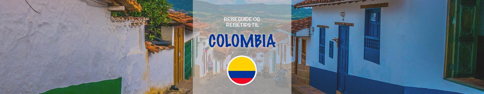 Reiseguide og reisetips til Colombia