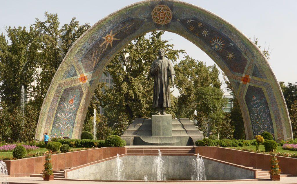 Rudaki Monument Dusjanbe Tadsjikistan