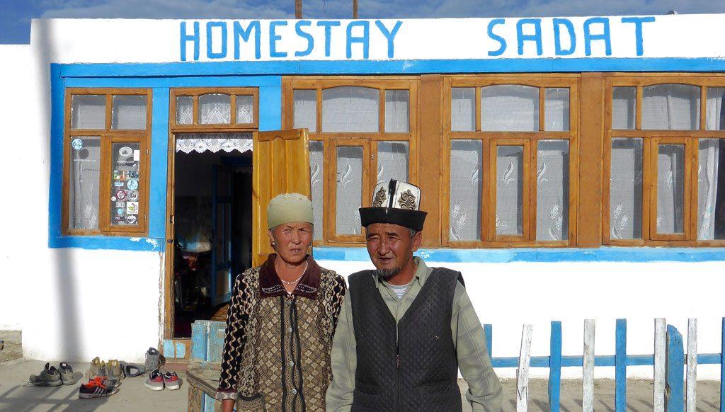 Homestay Karakul Tadsjikistan