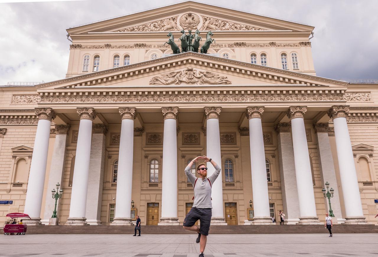 Bolsjoi-teateret Moskva